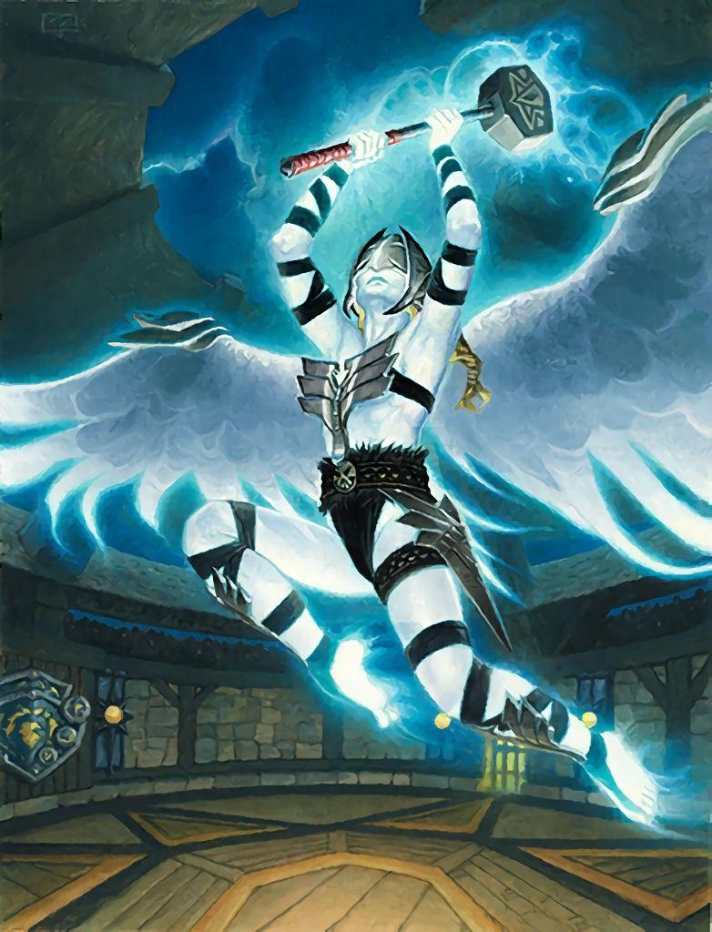 Val Kyr Warcraft Art Warcraft Races Dark Fantasy Art