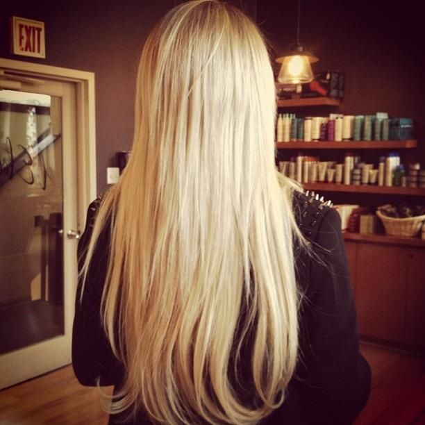 Long Blonde Hair Hotheads Hair Extensions Interesting Looks