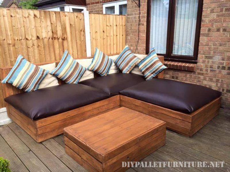 Canape D Angle Exterieur Pour Une Terrasse Canape Angle Meuble Palette Meuble