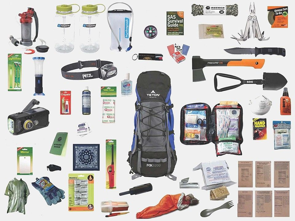 7 Different Examples Of Bug Out Bags With Pictures And
