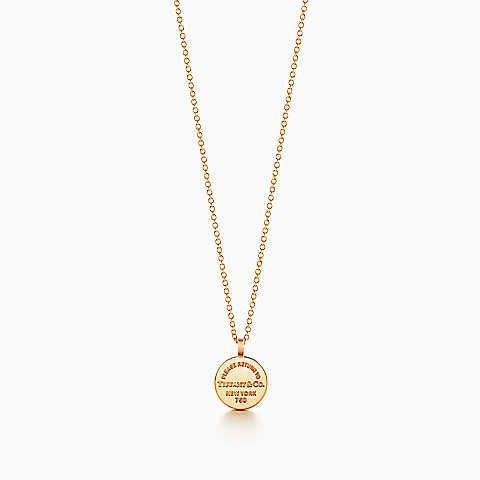 Return to tiffany circle pendant in 18k gold my style return to tiffany circle pendant in 18k gold aloadofball Images