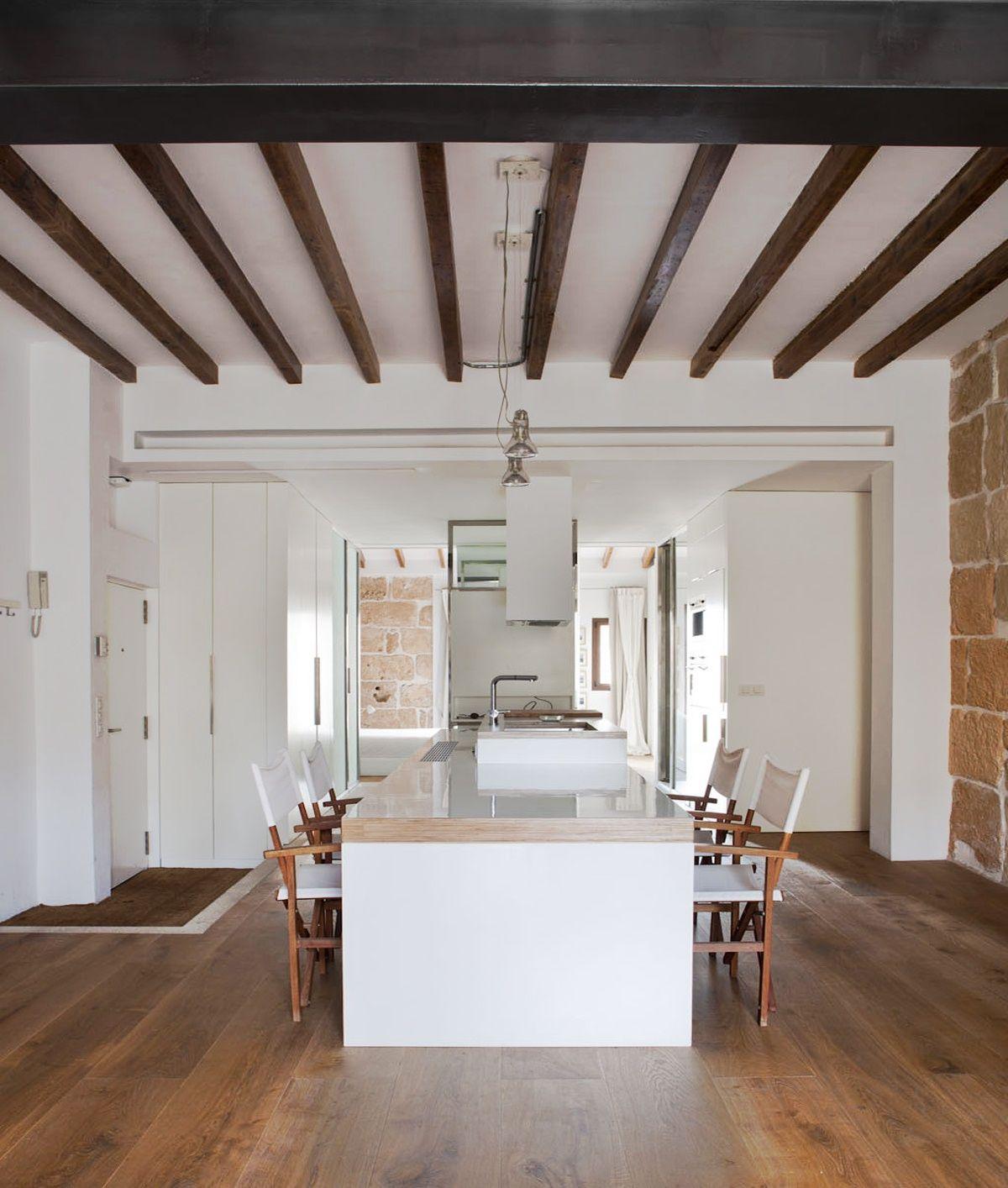 Reforma interior de cotacero taller de arquitectura en el Diseno de interiores palma de mallorca