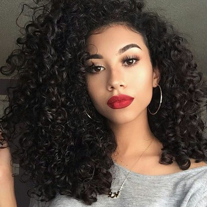 Top Quality Peruvian Deep Curly Virgin Hairr From Alish Best Hair In On The
