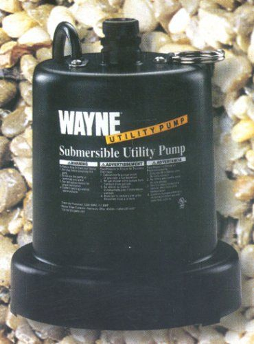 Wayne 57712-WYN1 Heavy Duty Submersible Pump - Utility Water