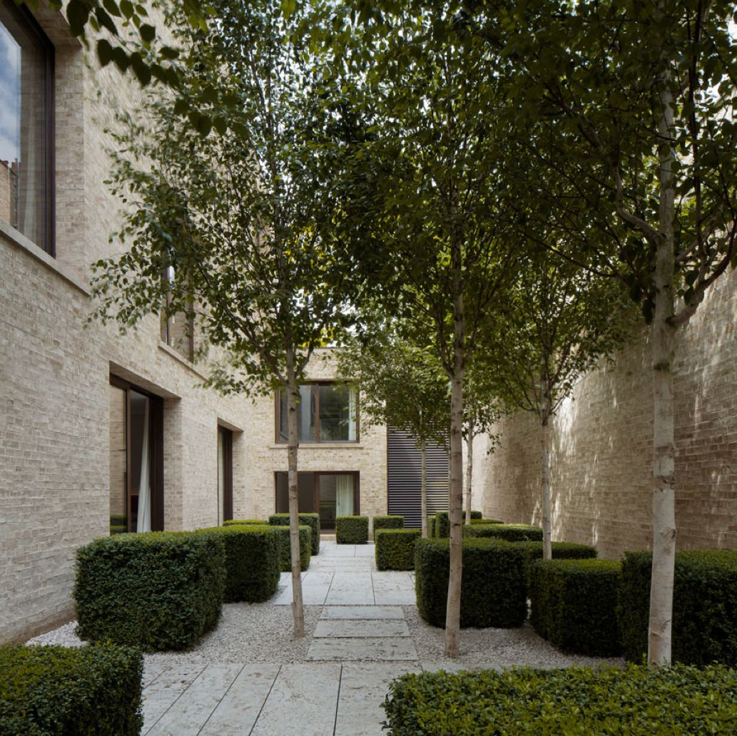Cafe Jardin East London: David Chipperfield, Family House In Kensington, London