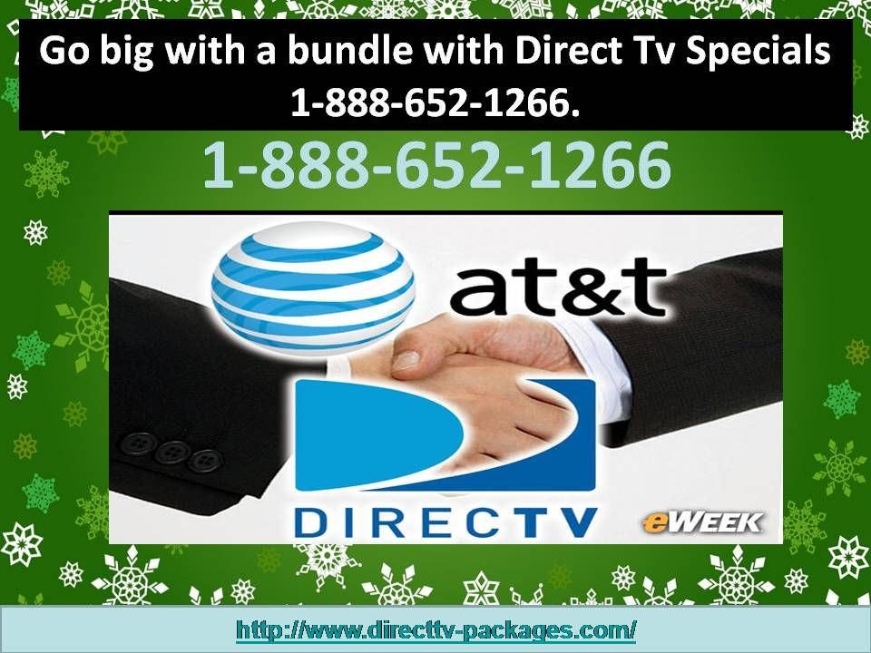 Go big with a bundle with Direct Tv Specials 1888652