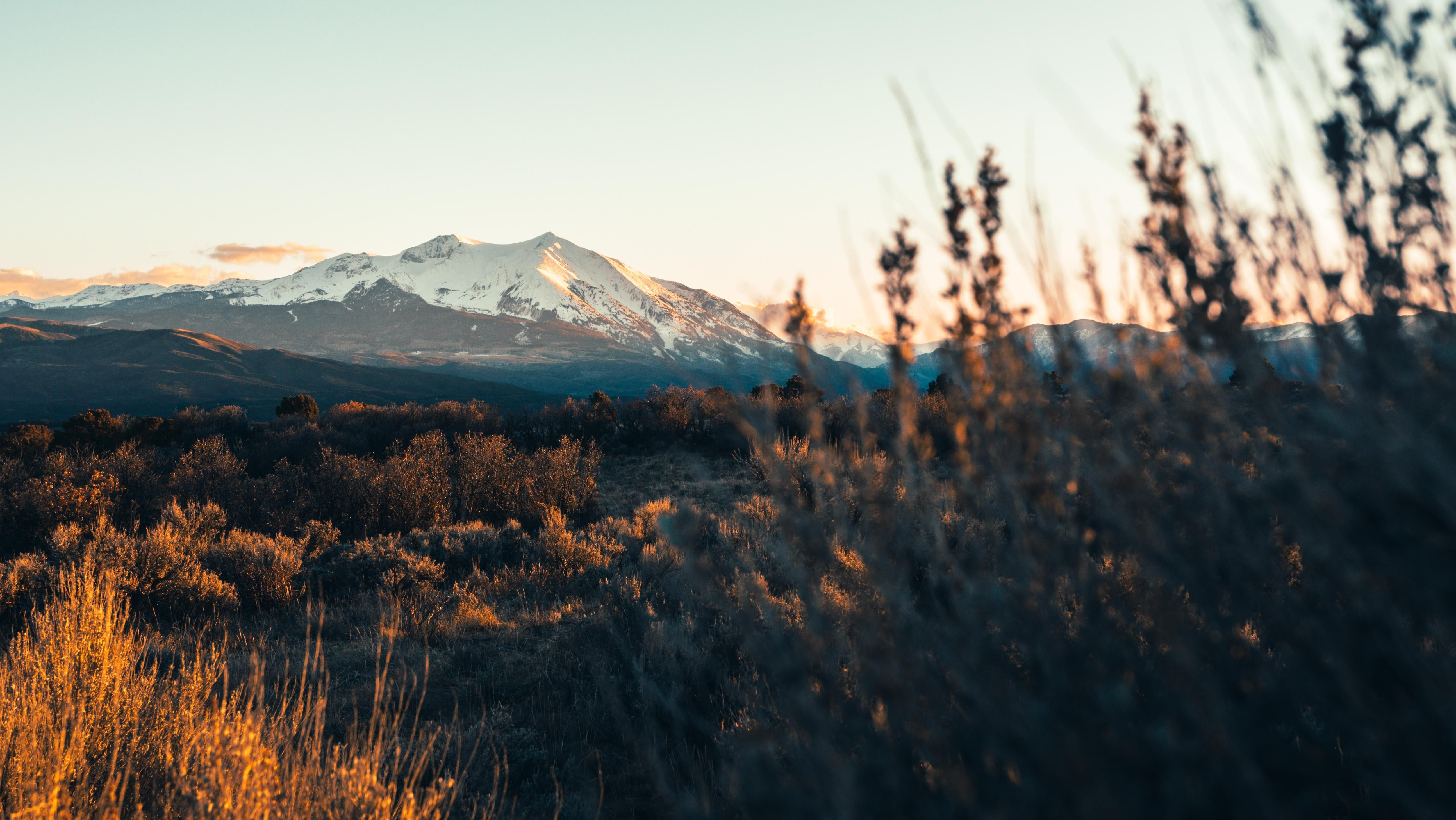 Rocky Mountain Sunsets  Hdwallpaper Wallpaper Image