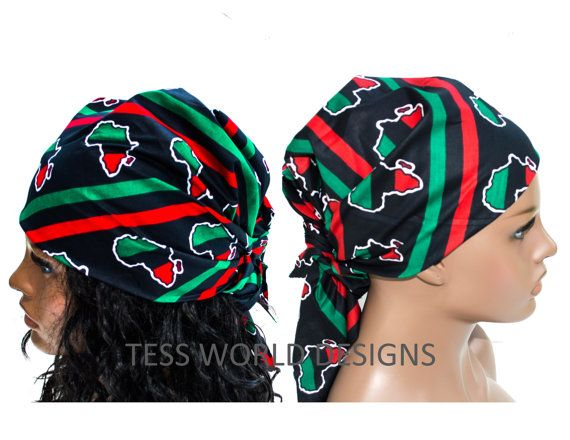 African head wraps/African bandana for Men and by TessWorldDesigns ...