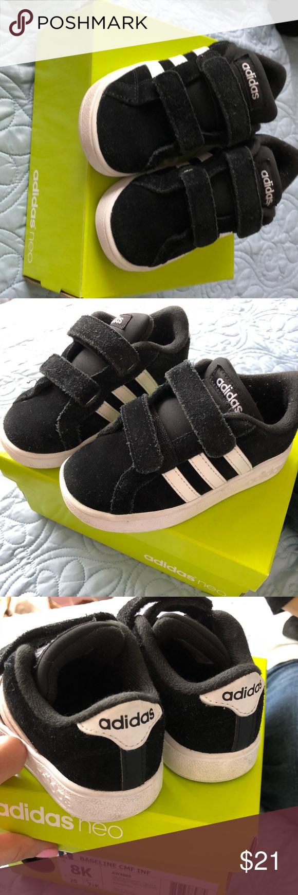 Adidas Neo Baseline AW4886 Black Suede