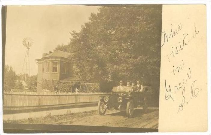 RP Street View, Auto on road, GREER, South Carolina, PU-1910