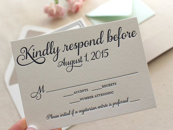 The English Garden Suite Classic Letterpress Wedding Invitation Suite Wit Letterpress Wedding Invitations Wedding Invitations Rsvp Rsvp Wedding Cards Wording