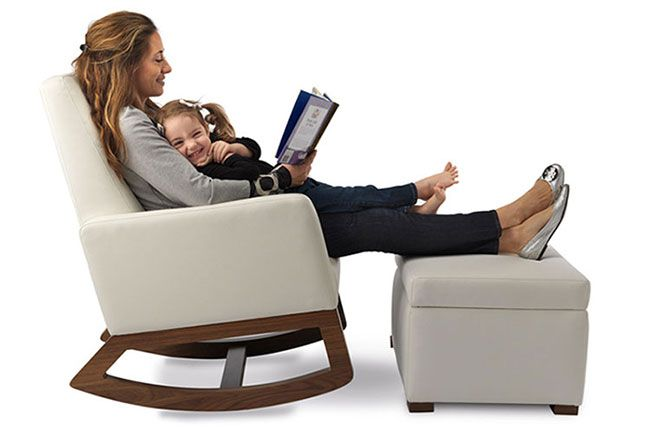 For A New Mom Rocking Chair Is A Best Choice For Nursery