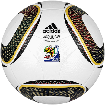 Adidas Jubliani The Official Soccer Ball Of Worldcup 2010 Gear Patrol Soccer Ball Soccer World Cup Match