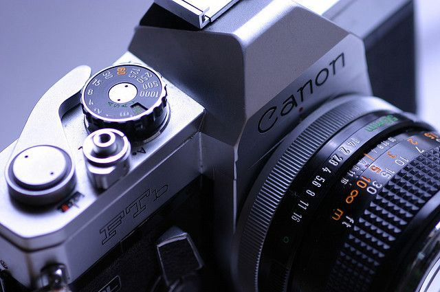 "Old Camera ""Canon FTb"" 1971"