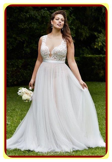 Vestidos de novias para gorditas 2019