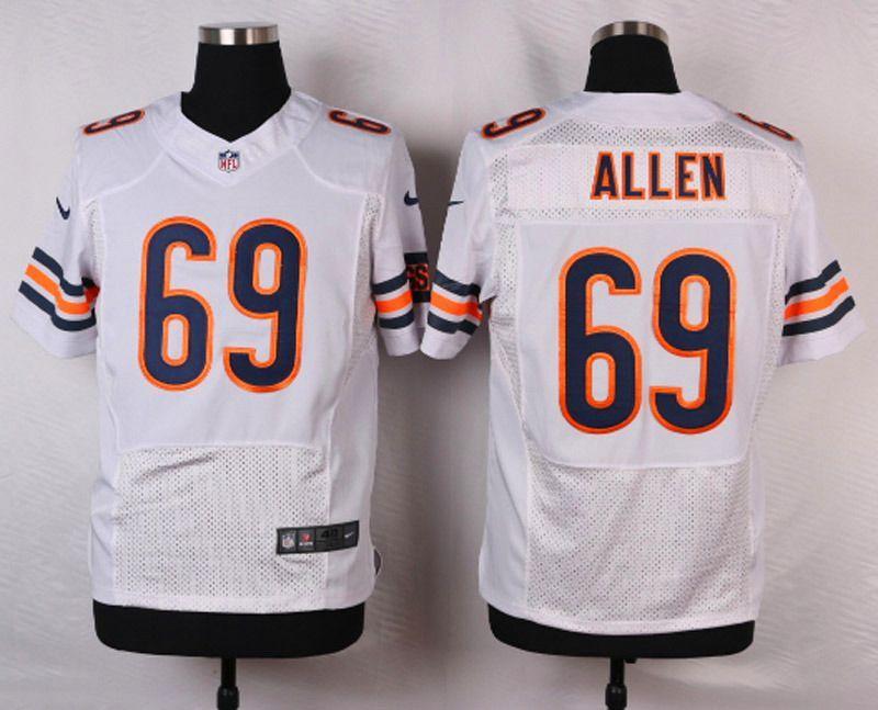 2892d6d09 NFL Customize Chicago Bears 69 Allen White 2015 Nike Elite jersey ...