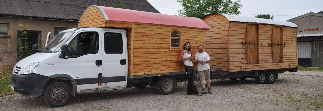 wohlf hlen auf kleinen raum wir bauen holzwohnwagen. Black Bedroom Furniture Sets. Home Design Ideas