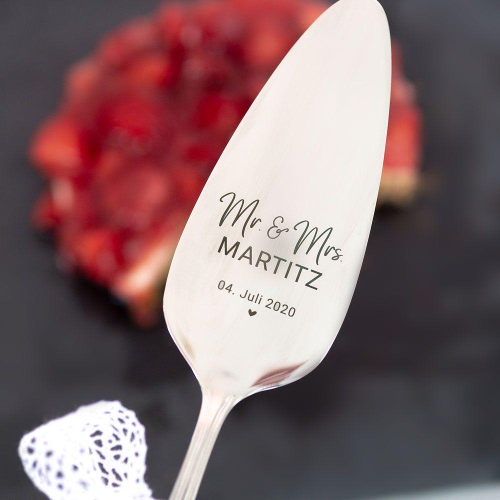 Name Platzkarte Gastgeschenk Ab 10 Stuck Madison Online Shop Gravur Tortenheber Hochzeit
