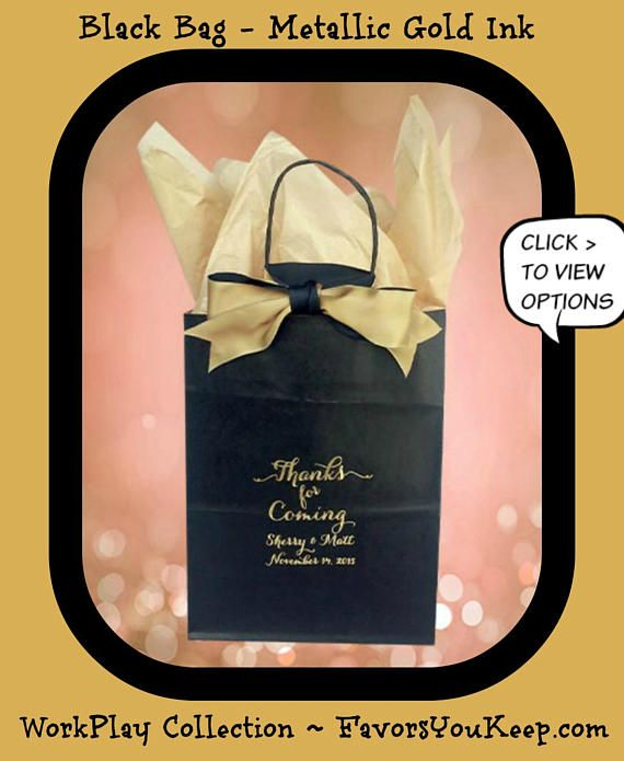 Wedding Welcome Bags Personalized Guest Gift To Our Favor Hotel