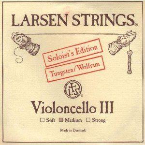 Larsen Soloist Cello G String Forte by Larsen. $82.29. Larsen Soloist Cello G String, 4/4 size, Medium gaugeTungsten core