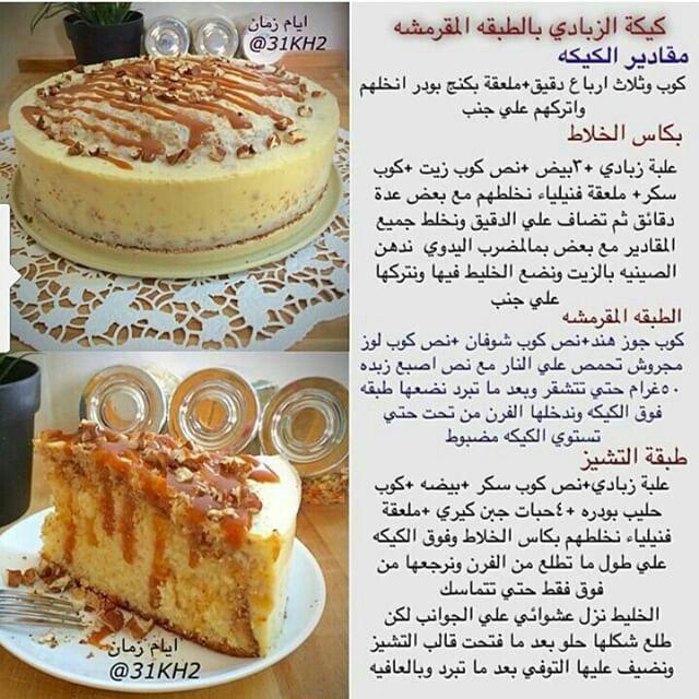 كيكة الزبادي Food Garnishes Ramadan Desserts Dessert Recipes