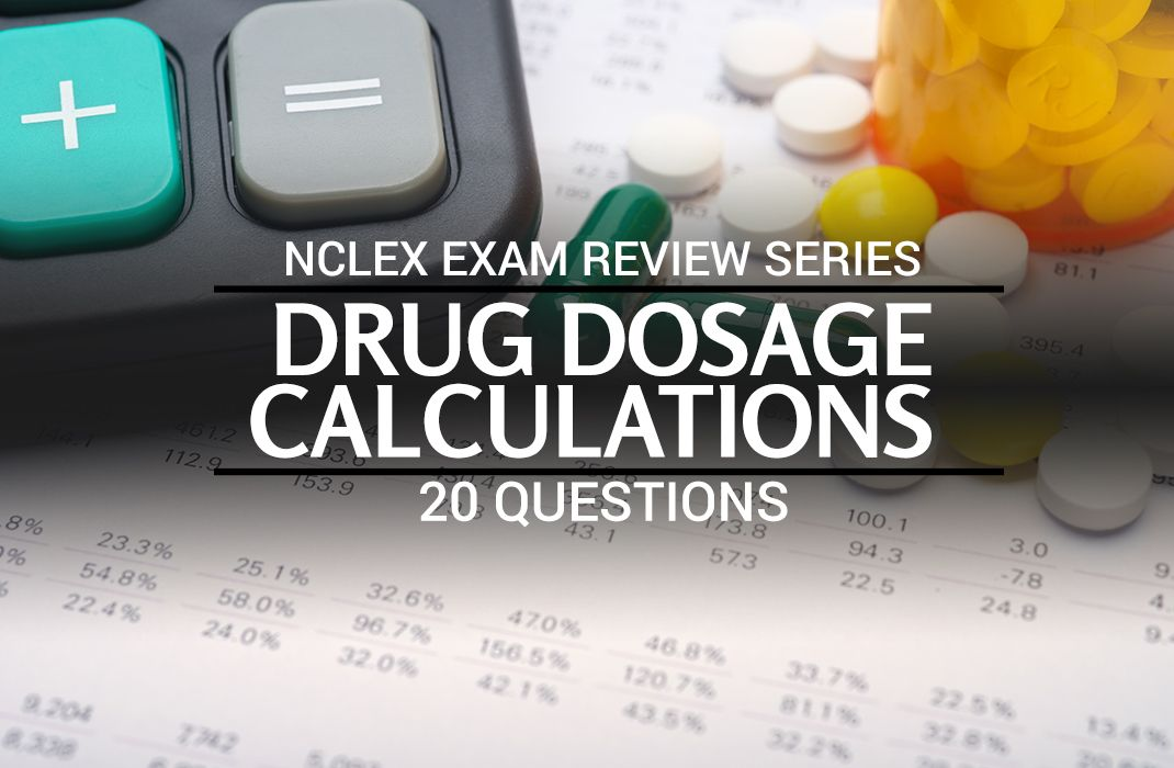 Free NCLEX practice questions all about drug dosage calculations and conversions. This quiz contains