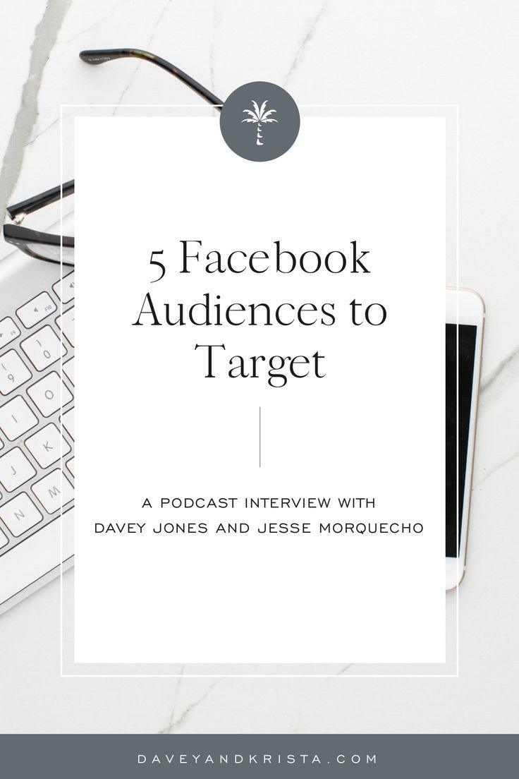 We are chatting about different audiences that you can create and target when advertising on Facebook to improve marketing. And one of my Till Agency partners, Jesse Morquecho, is here to explore this topic with me. In this conversation, we chat about five different audience or targeting possibilities that you can get started on, on the Facebook platform. #creativeentrepreneur #socialmedia #smallbusinessmarketing