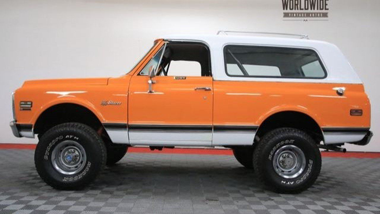 1972 Chevrolet Blazer for sale near Denver, Colorado 80205 ...