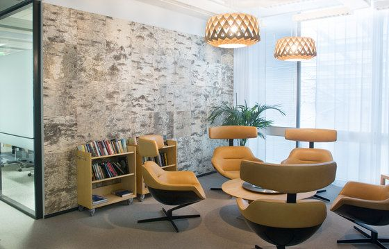 Tuohi wall element by showroom finland oy береста office
