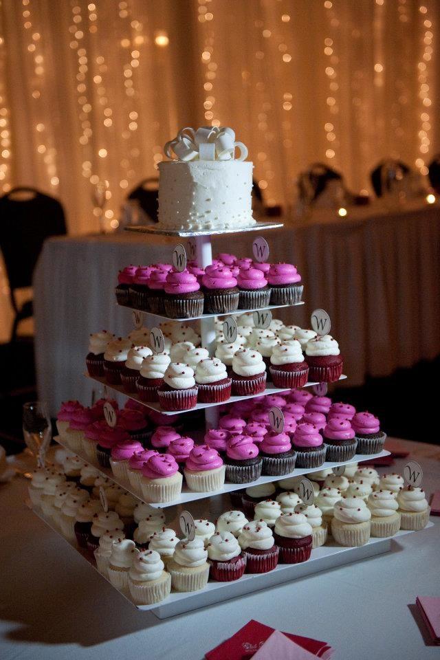 Yummy! Cupcake tower!