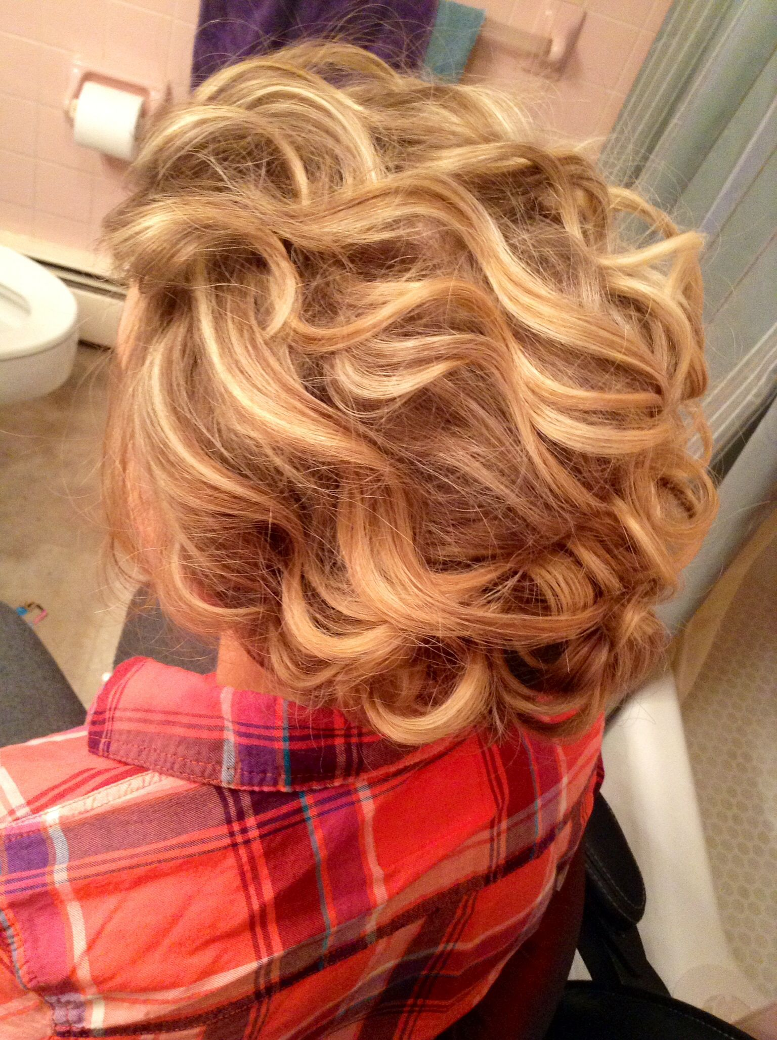 Different angle of the prom hair i did kelly teske goldsworthy