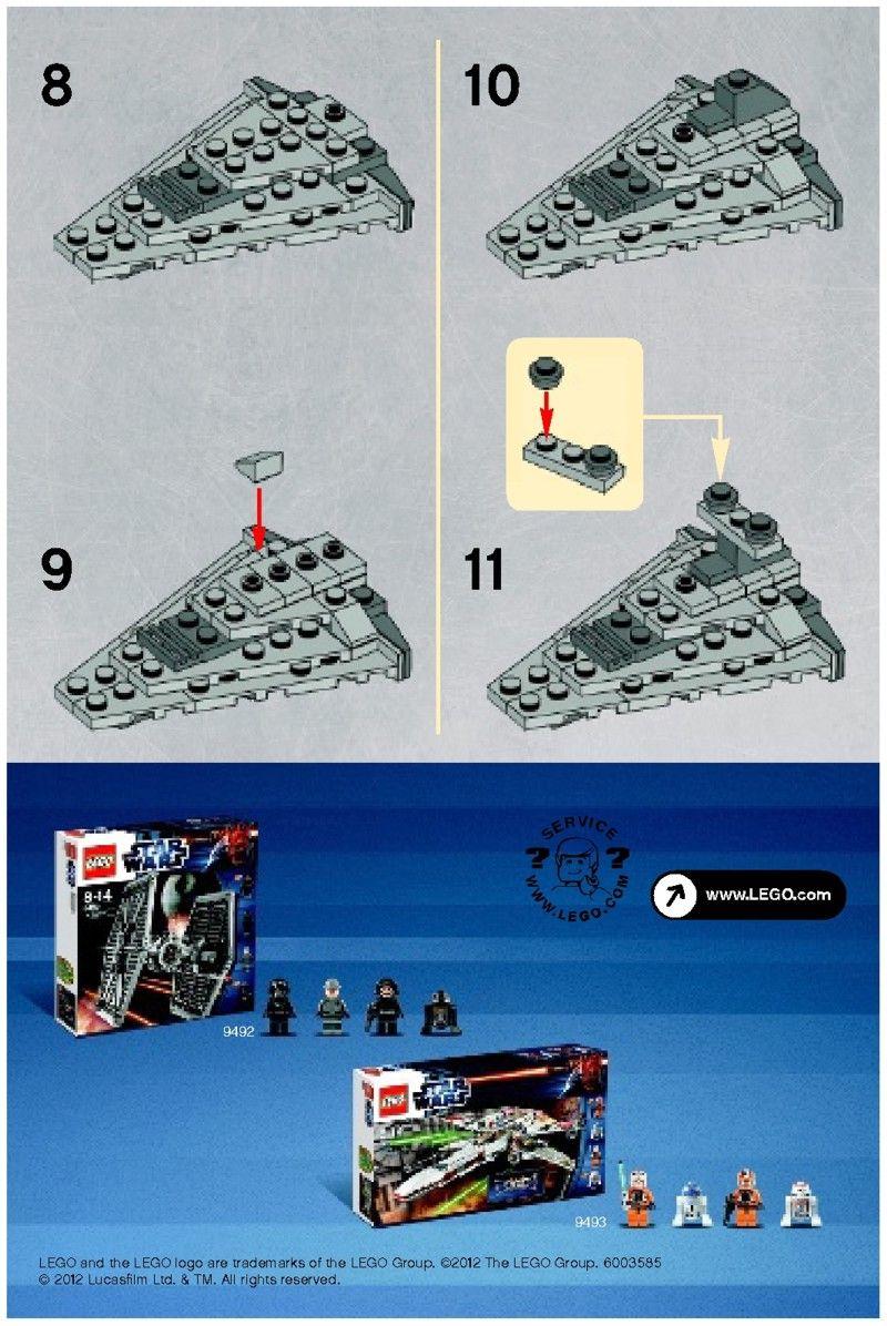 Star Wars Mini Star Destroyer Lego 30056 Lego Pinterest