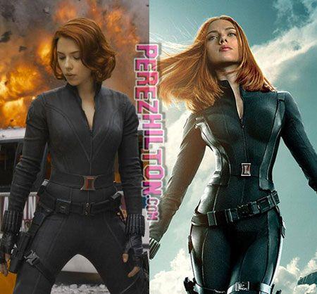 Scarlett Johansson Black Widow Poster Winter Soldier