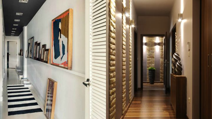 consejos para decorar un pasillo largo y estrecho deco