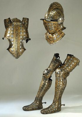 Armor. Manufactured in Greenwich (England) 1585