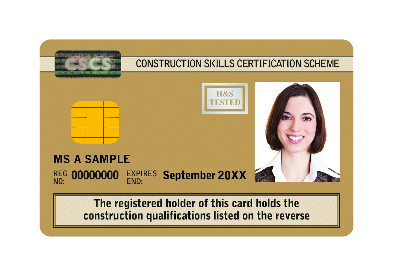 How Can You Qualify For The Gold Cscs Card Cards Good