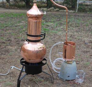 How to distill hydrosols