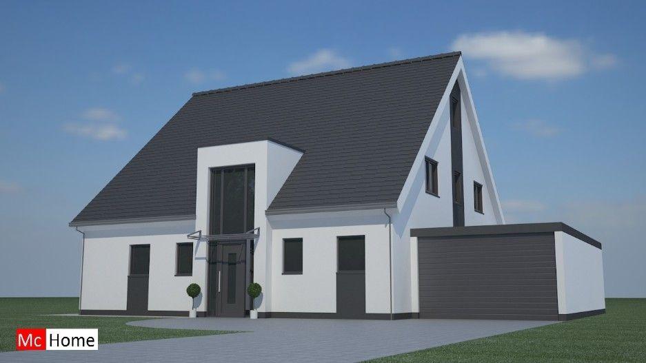 Moderne Woning Bouwen : Mc home.nl k6 moderne woning met kap bouwen aardbevingsbestendig