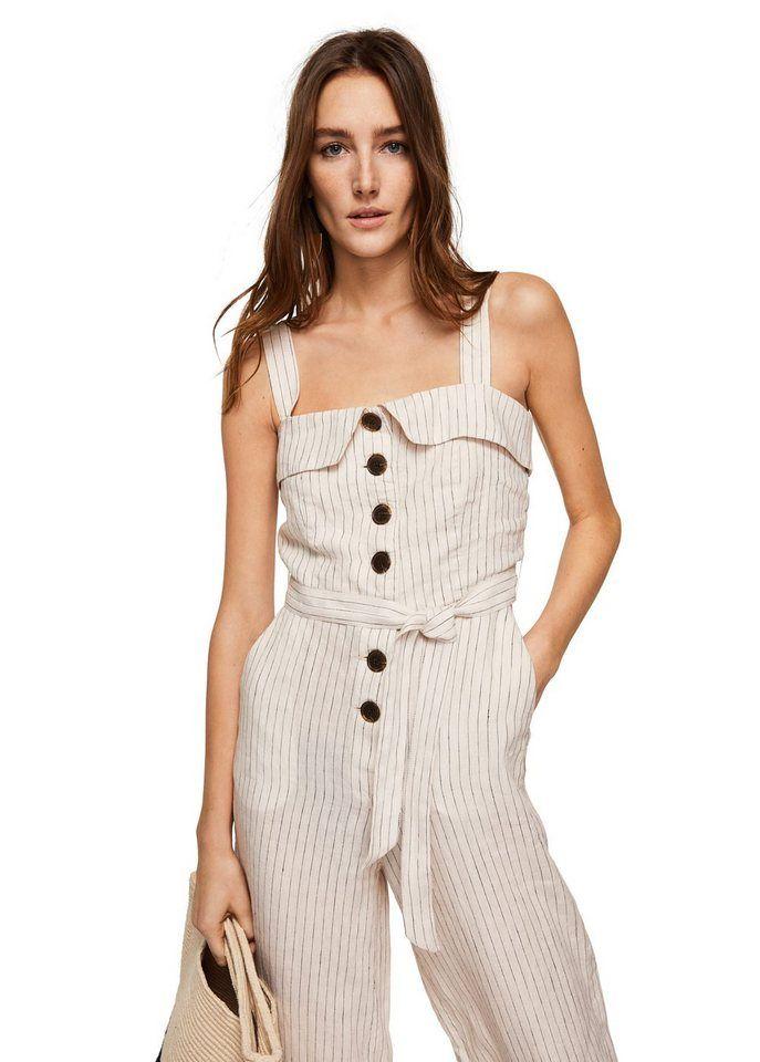hot sale online 5eb31 7e1fe MANGO Gestreifter Latzrock | Produktkatalog Fashion @ OTTO ...