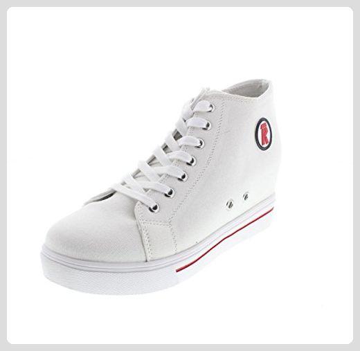 Rifle , Damen Sneaker, weiß bianco 01 WHT Größe: 40