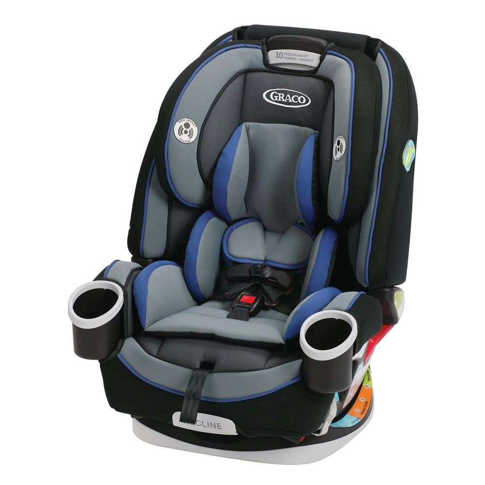 Graco 4Ever All In 1 Car Seat Gives You 10 Years With One Its Comfortable For Your Child And Convenient As It Transitions From