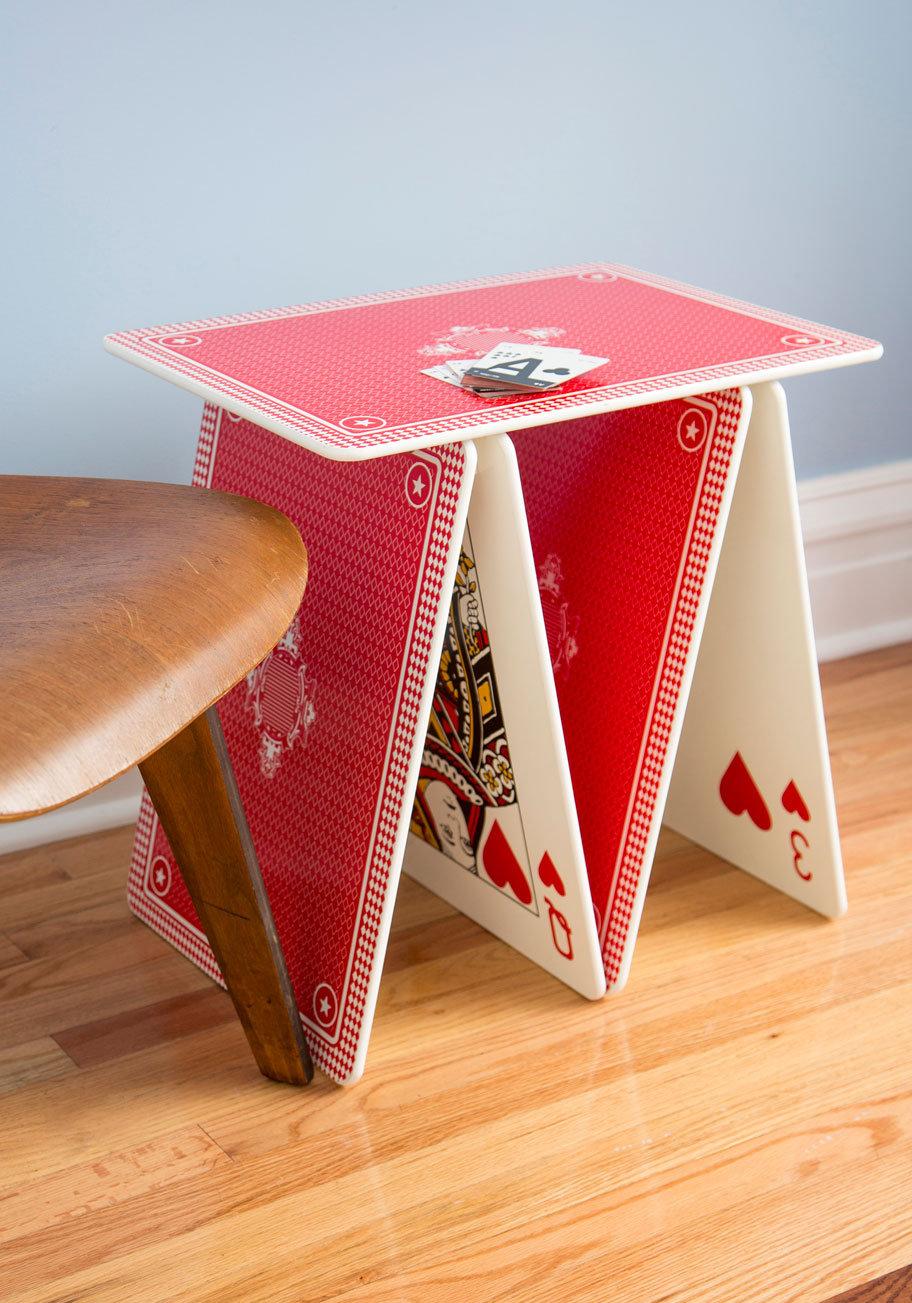 Perfect #ModCloth #table #Card #Table #Retro #Vintage #Decor #Accessories