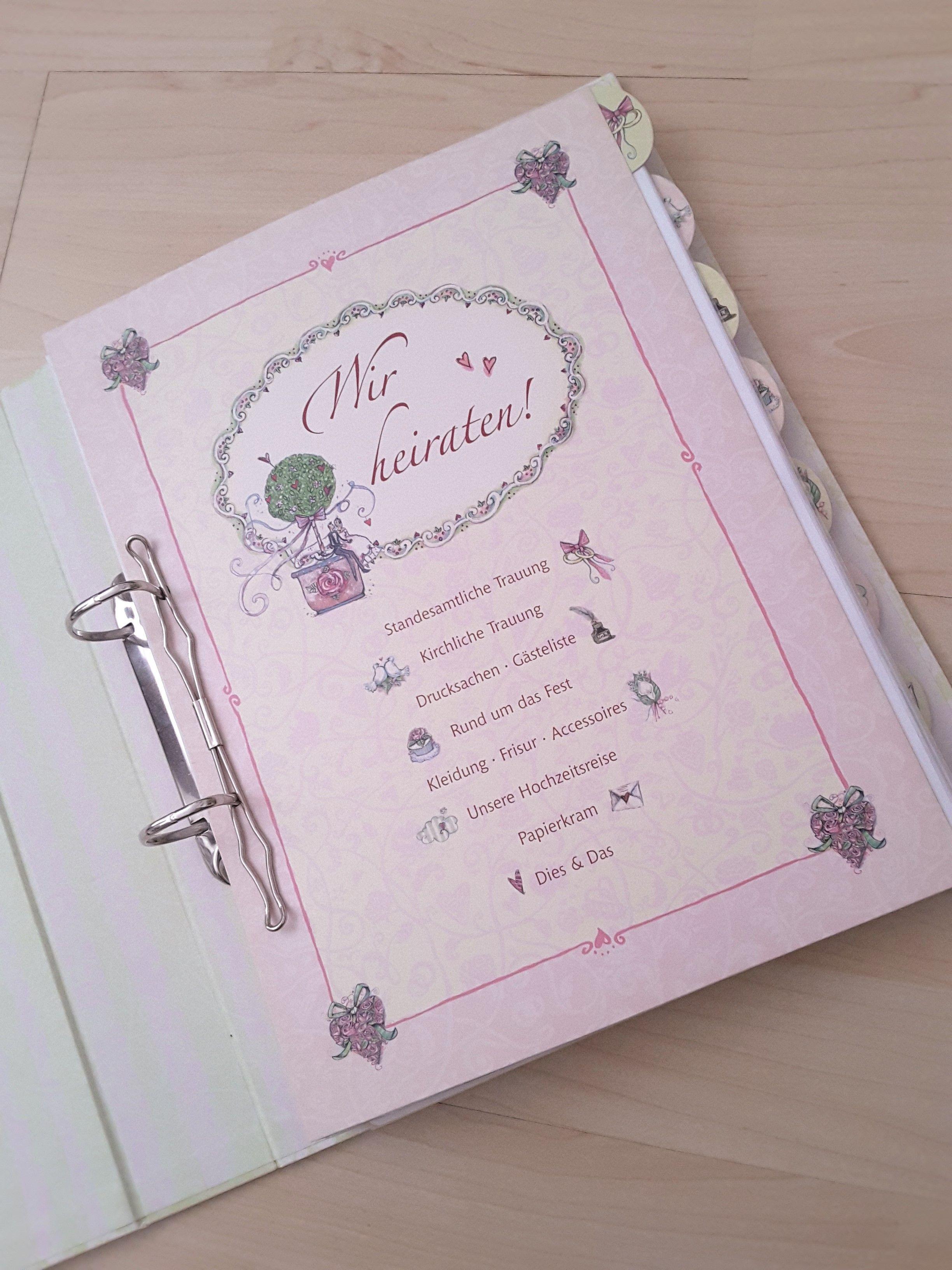 media image 0d 59 82 Hochzeitsordner Coppenrath Verlag