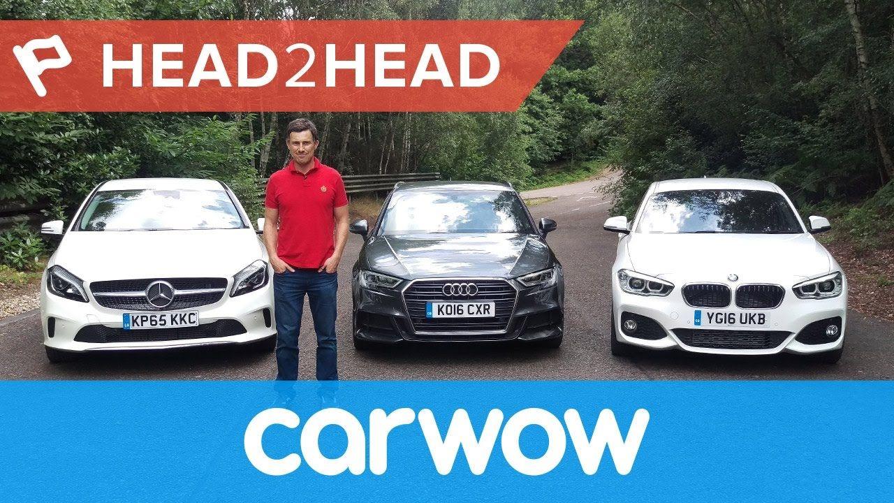 Audi A Vs BMW Series Vs Mercedes AClass HeadHead - Audi vs bmw