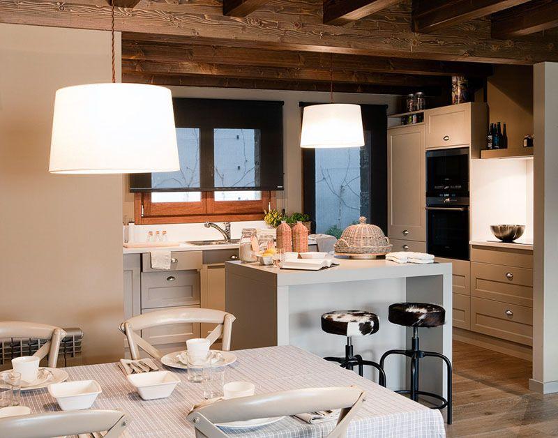 Casa cerdanya reformes by marina co pinterest decoraci n for Decoracion piso montana