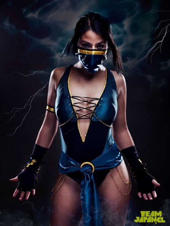 Kitana Cosplay Mortal Kombat 4tube 1