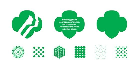Girl Scouts Brand Patterns And Icons Girl Scouts By Ocd