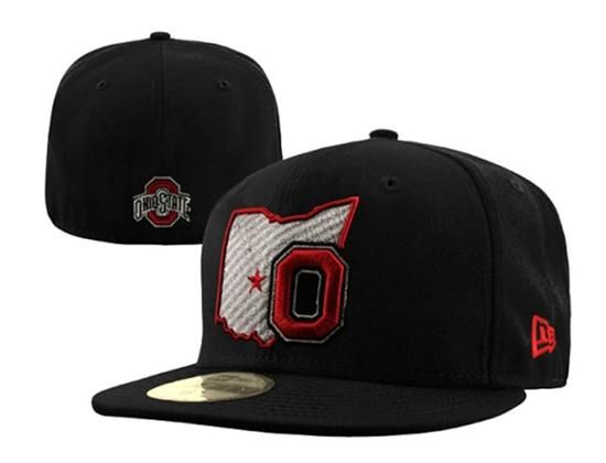 Ohio State Buckeyes State Logo 59Fifty Fitted Baseball Cap by NEW ERA x NCAA 9cbec96c7d3b