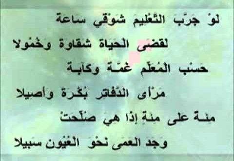ابراهيم طوقان قصيدة المعلم Math Arabic Calligraphy Calligraphy