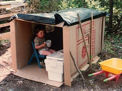 refrigerator box. refrigerator box playhouse